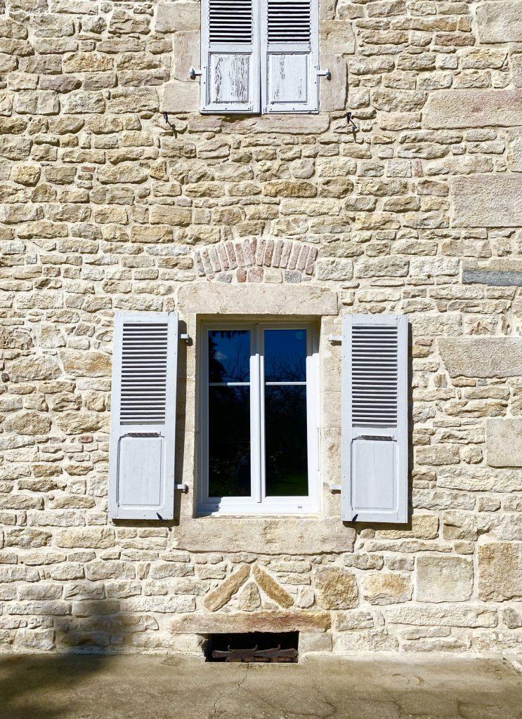 fenêtre coté sud