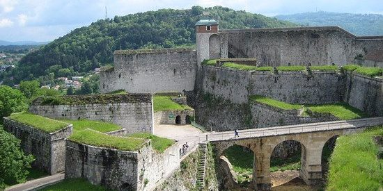 Entrée de la citadelle